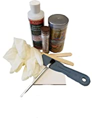 PC Products Rotted Wood Repair Kit with Water-Based Hardener, and Epoxy Paste and Putty