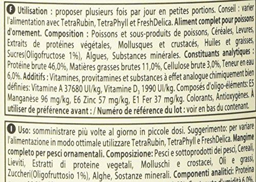 confronta il prezzo Tetra Min - Mangime per Pesci - 1000 ml miglior prezzo