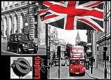 Olimpia Design Fototapete Photomural London, 1 Stück, 059VEXXXL