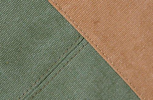 FZHLY Versione Coreana Tela Retro Cucitura Casuale Hit Scuola Colori Stile Semplice Borse Selvatici,Purple Blue