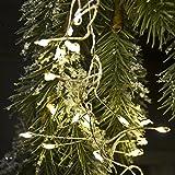 LED Kaskade Cluster Lichterkette Indoor Warmweiss Xmas Weihnachten Beleuchtung (600 LED)