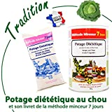 Anne Delona soupe au chou cure méthode minceur 7 jours potage diététique pour perte de poids