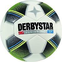 Derbystar Junior Light–Balón de fútbol infantil, infantil, color weiß schwarz gelb blau, tamaño 5