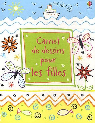 Carnet de dessins pour les filles par Maria Pearson