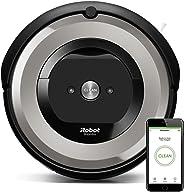 iRobot Roomba e5154, aspirateur robot, idéal pour les animaux, 2 brosses anti-emmêlement en caoutchouc, forte puissance d'asp