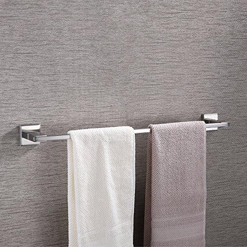 KES Handtuchhalter aus Edelstahl zur Wandmontage, 23 Zoll, Gebürstet, Modernes Design, A2400-2