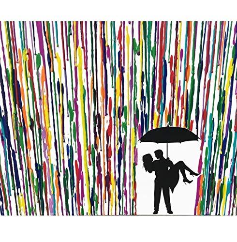 5D Diamond Painting Set DIY Umarmung Im Regen Runder Bohrer Stickerei Mosaik Bilder Arts Craft Geschenk Für Home Wall Decor Enthalten Frameless 40X50Cm