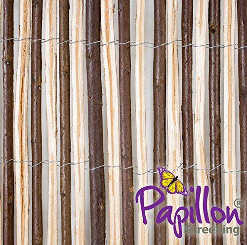 PapillonTM Ocultación de Mimbre Partido 4m x 1m