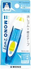 Tombow MONO 2-Way Correction Tape, Blue, 1-Pack
