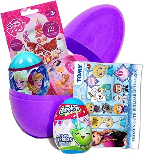 Großes Überraschungsei, Geburtstagsgeschenk, My Little Pony und Shopkins