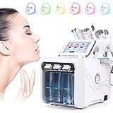 ASDYY Machine d'oxygène de l'hydrogène Beauté, Peau Professionnelle Rejuvenation Petit Appareil Bubble, 7 en 1 Cleaner Multif