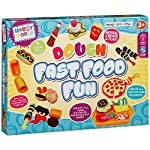 Hobby World Fast Food Dough Set | Fun Make Model Your Own Fast Food Craft Toy Kit