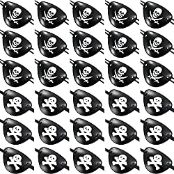 Set de 30 piezas de parches de pirata, 2 modelos.