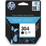 HP N9K06AE 304 Original Ink Cartridge, Black, Single Pack