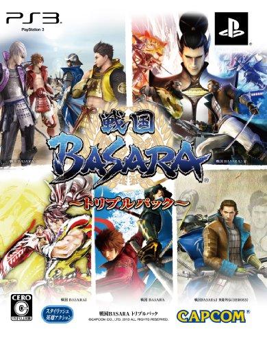 Sengoku Basara Triple Pack[Japanische Importspiele] (Triple Web Action)