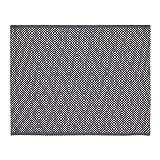 IKEA GODDAG Tischset in schwarz/weiß; 100% Baumwolle; (35x45cm)