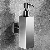 Velimax Seifenspender aus Edelstahl 304 Seifenspender Wand Seifen Dispenser für Küche und Bad, Gebürstet