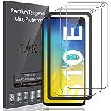 LK Verre Trempé pour Samsung Galaxy S10e (5,8 Pouces) Protection d'écran, [3 Pièces] [avec Kit Installation Offert] [ Dureté 9H, 3D-Touch, 2.5D Arrondi ] Vitre Protecteur pour Samsung S10e