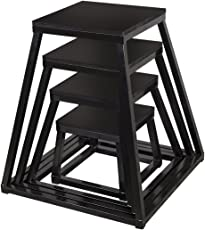 Viva Fitness Metal PLYO Box/PLYO Table - from 6 inches Upto 36 inches