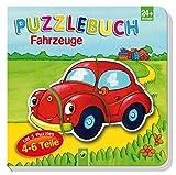 Puzzlebuch Fahrzeuge: Mit 5 Puzzles á 4-6 Teile - Vera Brüggemann
