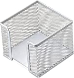 "Helit H2518400 - Zettelbox""the cube network"", silber"