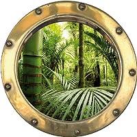 Pegatina adhesiva de bambú, 30 x 30 cm H367: