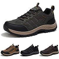 ISOOUS Chaussures de Randonnée Homme Respirante Antidérapantes Chaussures de Marche Outdoor Trekking Chaussures de Trail