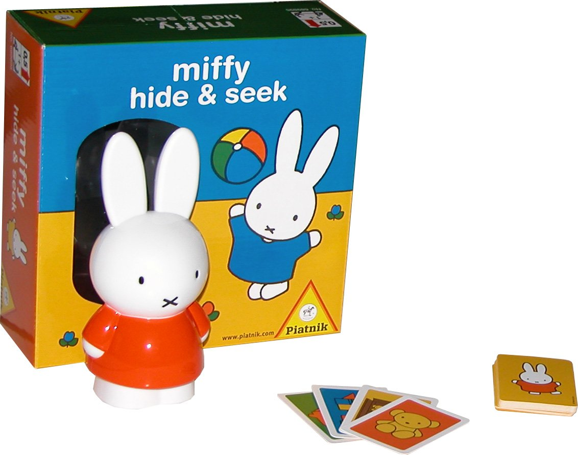 Piatnik 6898 - Miffy Hide and Seek, Babyspielzeug