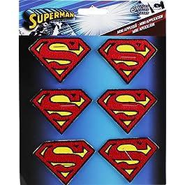 Applicazione DC Comics Superman 6 Logo Patch Set