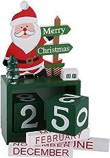 TiooDre Brand New Arrival Hoelzern Weihnachtsbaum Kalender Weihnachten Kalender Holz 3D Building Block Time Change Zufall Weihnachtsgeschenke ¨¹berraschung