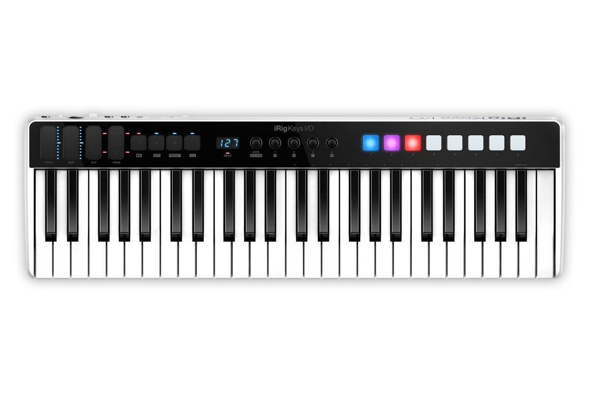 IK Multimedia iRig Keys I/O 49 Interface Audio