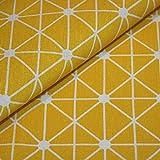 Canvas-Stoff Geometrisch gemustert Baumwolle Meterware -