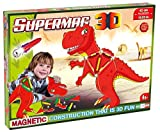 Plastwood 0608 – Supermag 3D T-Rex Construction Toy Colourful