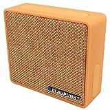 Blaupunkt BT04 Bluetooth tragbarer Retro Lautsprecher mit Radio und MP3-Player (Orange)