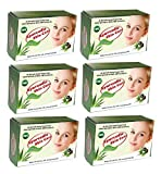 Ayurvedic Skin Care Soap (Set of 6 ), Enriched with Aloe Vera, Neem, Sandal and 27 other herbs