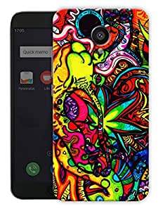 """Humor Gang trippy grass cannabis art Printed Designer Mobile Back Cover For """"Meizu M3"""" (3D, Matte Finish, Premium Quality, Protective Snap On Slim Hard Phone Case, Multi Color)"""