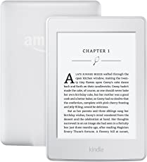 Kindle Paperwhite E-Reader - White, 6'' High-Resolution Display with Built-in Light, Wi-Fi - Includes Special Offers