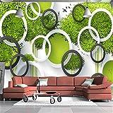 Mbwlkj 3D Tapete Möbel Dekorative Tapeten Bild Handgemalte 3D Baum Vögel Wohnzimmer 3D Mural Tapete Bilder-400cmx280cm