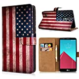 LG G4 Handyhülle inklusive Displayschutzfolie USA