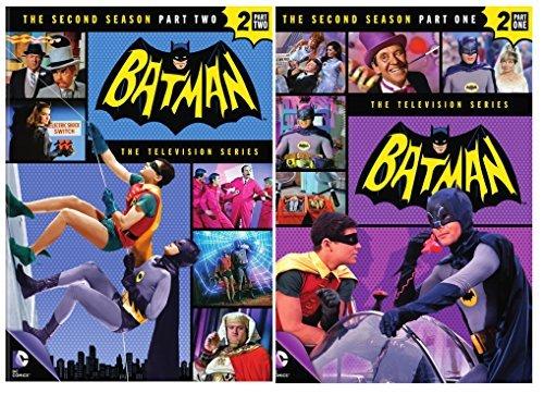 Batman: Season 2 Part One & Part Two Classic TV Series 60 episodes Set - Batman-tv-serie