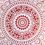 ShenHO Indian Mandala Hanging Colgante de Pared, Hippy Hippy Tapestries - Picnic Beach Sheet, Mantel, Colgante Decorativo de Pared (Orange, 150x200cm)