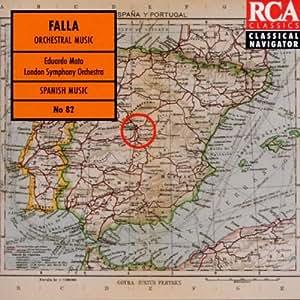 Falla: Nights in the Gardens of Spain / El Amor Brujo / Three Dances from The Three-Cornered Hat