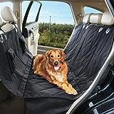 """Perro funda de asiento, la Croods 58""""X54"""" pulgada de grosor resistente al agua hamaca perro fundas de asiento para todos los coches y SUV, antideslizante & se puede lavar a máquina. Mascota cubierta de asiento de coche con 2tienda bolsillo"""