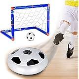 Cozywind Rete di Calcio Set di Mini Porta da Calcio automontanti con Palla e Pompa per Bambini Rete di Ricambio per Porta da Calcio – 90 * 60 * 47cm (Dimensions of The Goal)