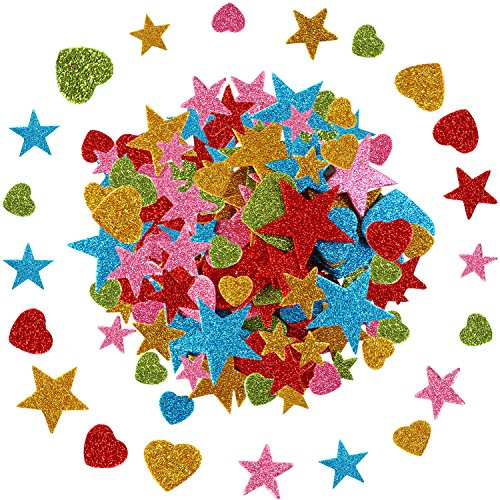 Aneco 360 Pieces Glitter Foam St...