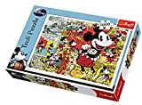 Trefl 10309 - Puzle (1000 piezas), diseño Mickey Retro