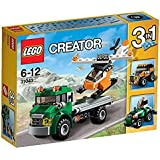 Lego Chopper Transporter, Multi Color