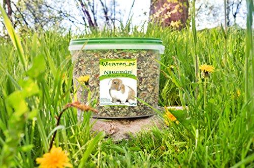 15kg Kaninchenfutter Wiesenknopf Strukturfutter mit Kräuter - 3