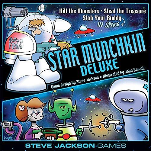Steve Jackson Games Munchkin–Munchkin Deluxe–Juego de Cartas