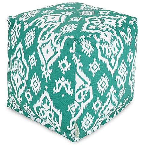 Majestic Home Goods Raja Cube, Small, Jade